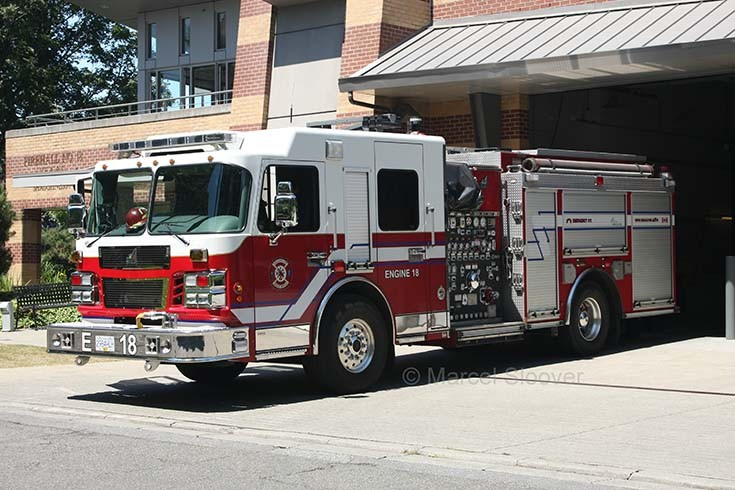 Engine 18 Vancouver Fire department