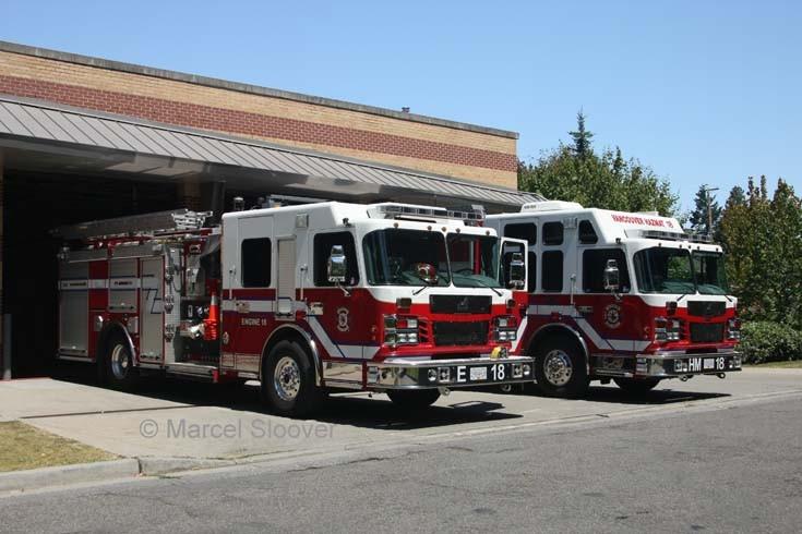 Appliances Fire Hall 18 Vancouver FD