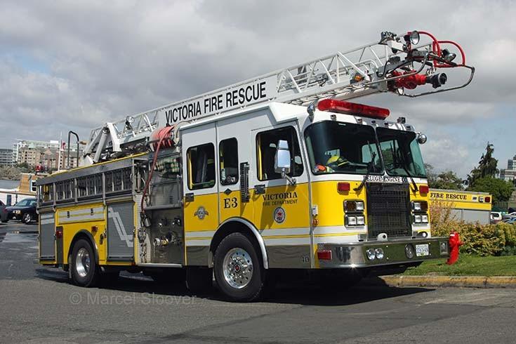 Engine 3 Spartan Anderson Victoria BC Fire dept.