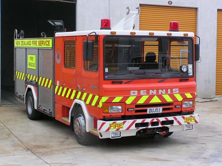 Recycled Rapier Fire Truck Wellsford New Zealand
