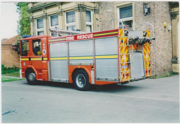 Cleveland Fire Rescue Dennis Sabre