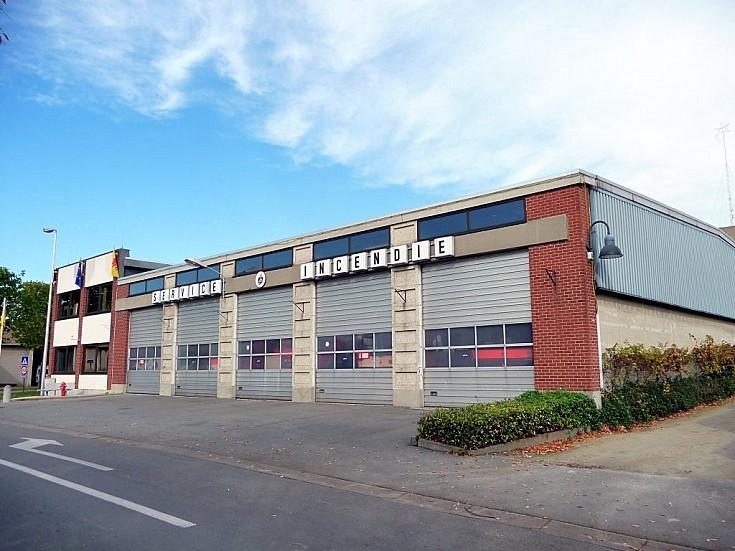 Fire station Ath Belgium.