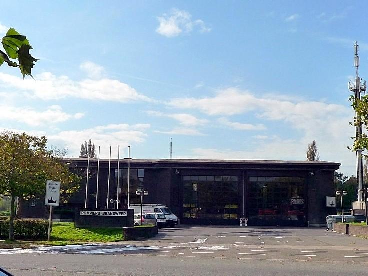Brussels Fire station VUB Belgium