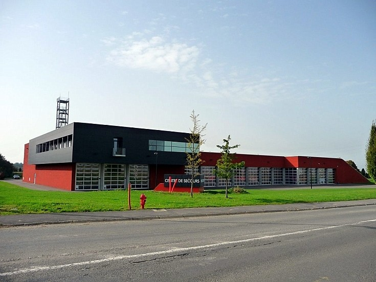 Nivelles Fire Department. Fire Station.