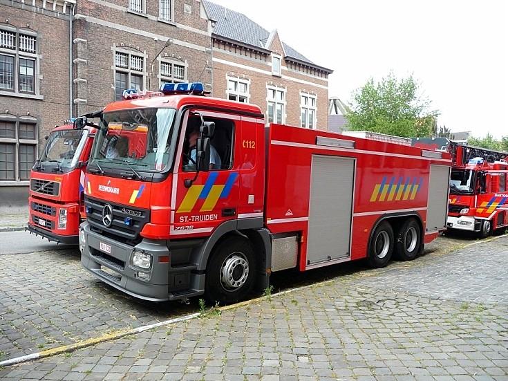 Brandweer St Truiden Mercedes Actros