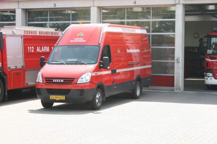 Odense Fire department Iveco Daily