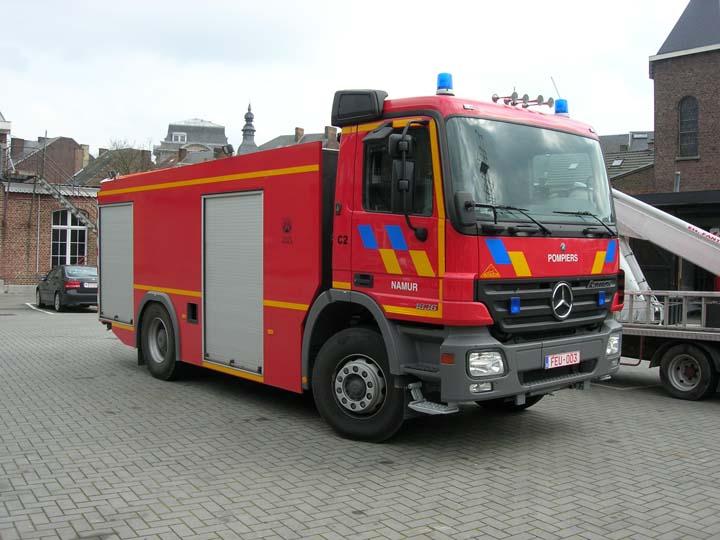 Watertanker Mercedes Fire Brigade Namur