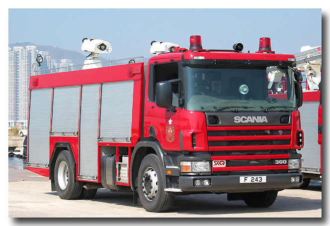 Scania/SK Fire Reserve Heavy Pump