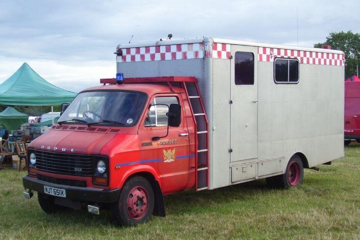 1982 Dodge 50 Incident Control Unit.
