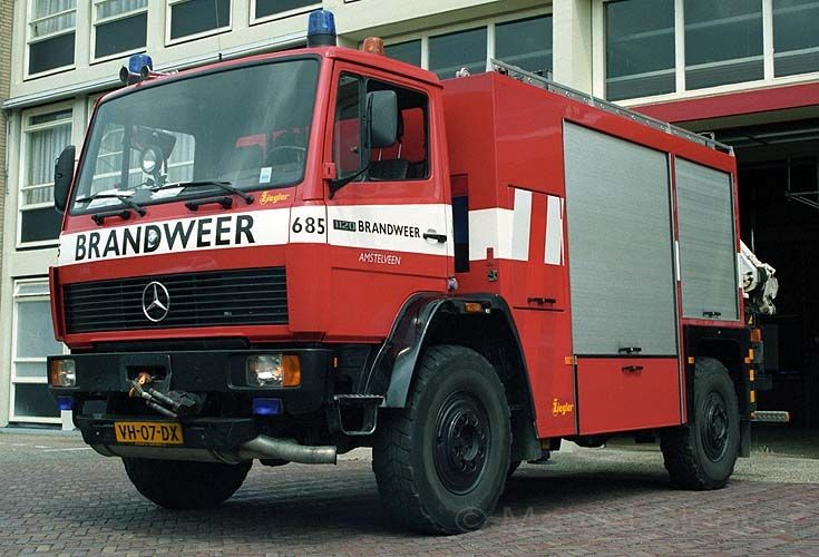 Rescue truck Amstelveen Mercedes VH-07-DX