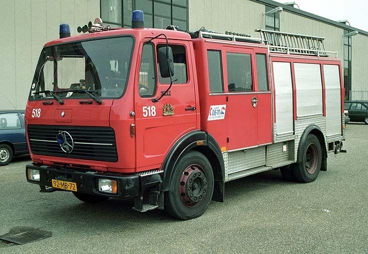 Brandweer Amsterdam Mercedes 1017