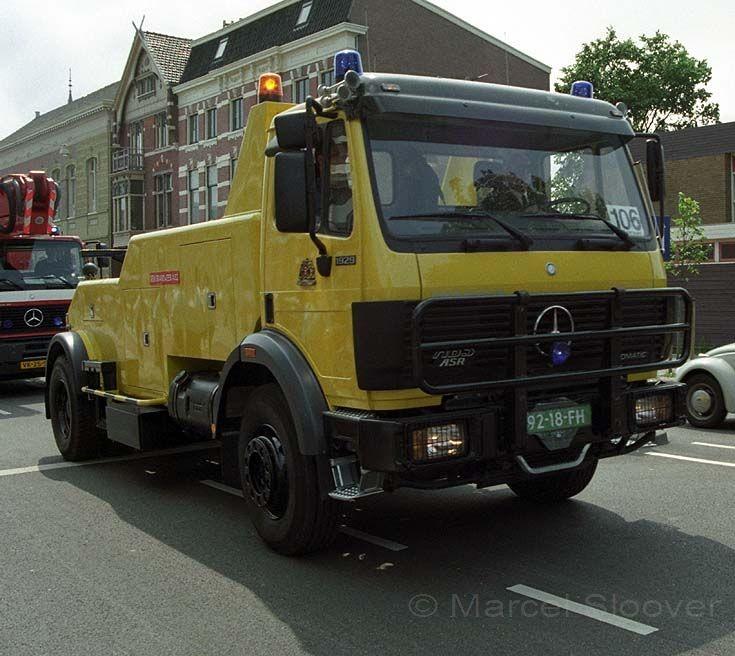 Amsterdam Fire brigade Mercedes 1929