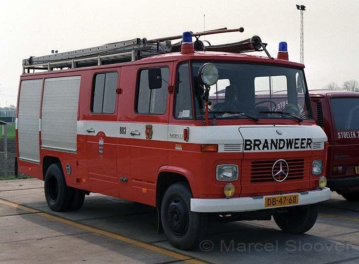 Brandweer Arkel Mercedes 608D