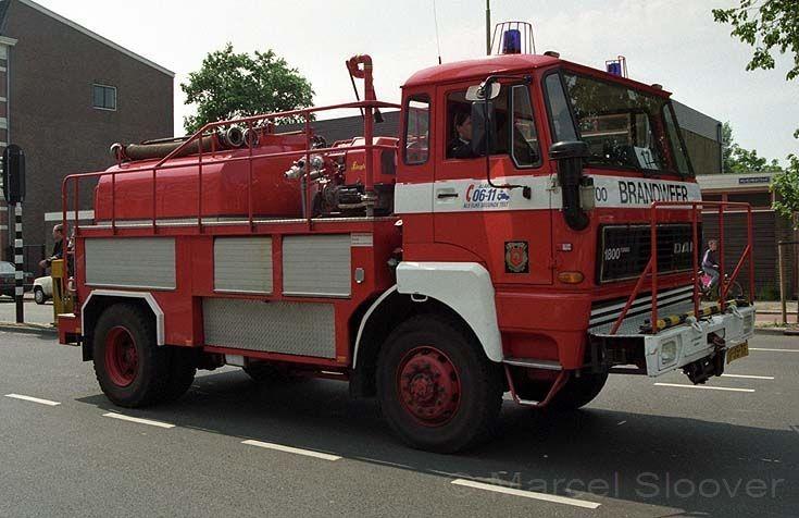 Brandweer Arnhem DAF tanker