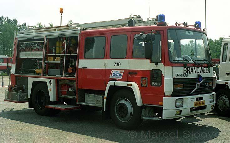 Brandweer Arnhem Volvo FL 614