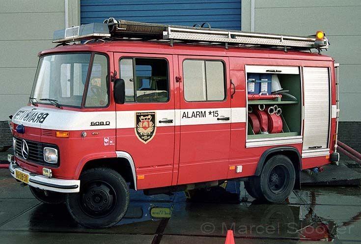 Works Fire brigade AZR Rotterdam Mercedes