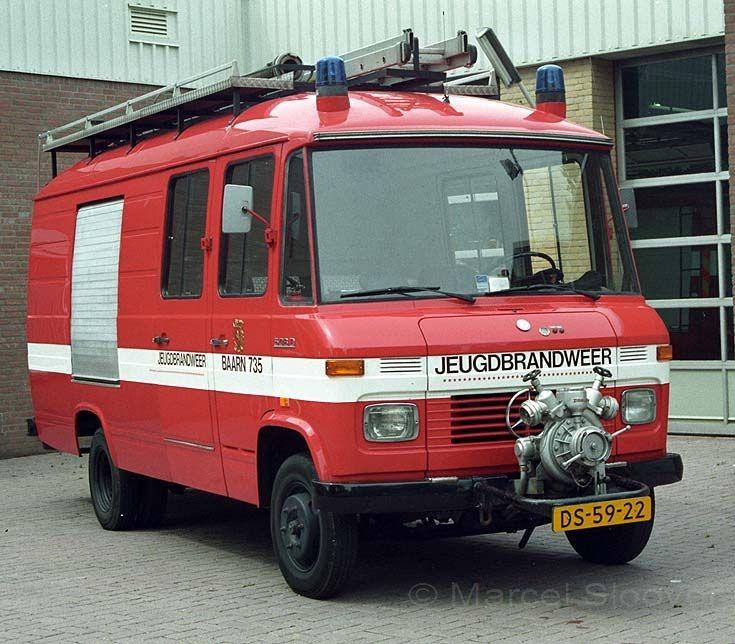 Brandweer Baarn 735 Mercedes 508