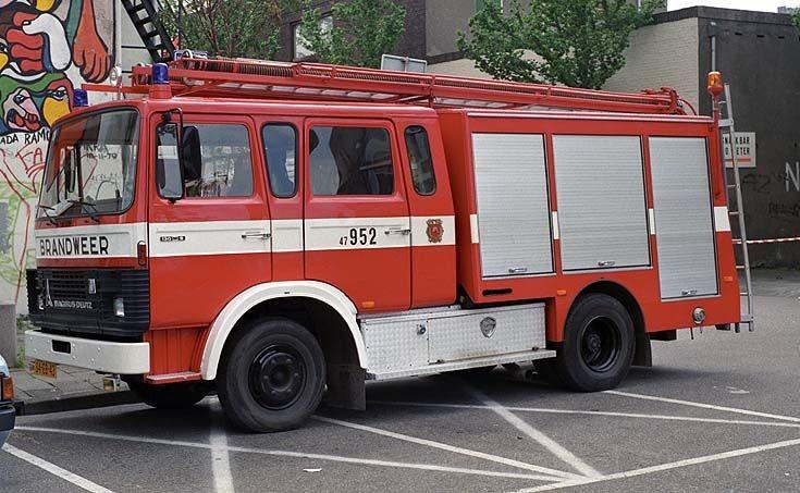 Brandweer Benschop 952 Magirus