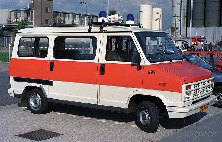 Brandweer Bergen op Zoom Citroen C25