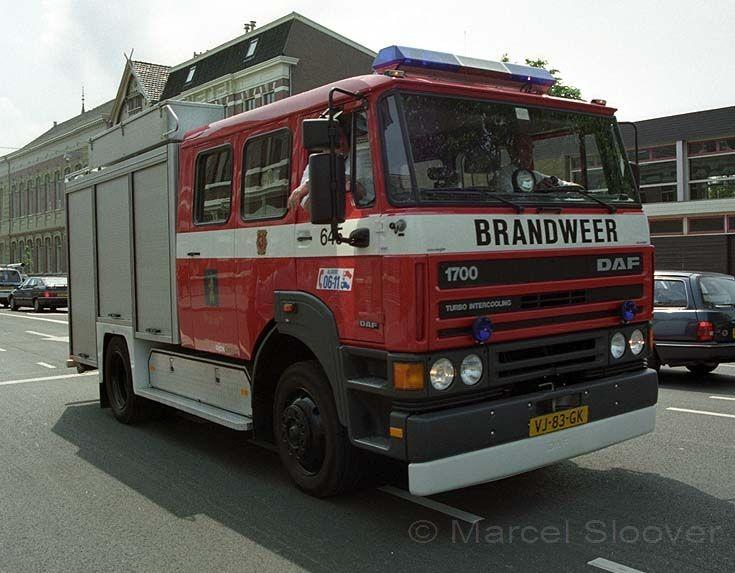 Brandweer Berghem DAF 1700