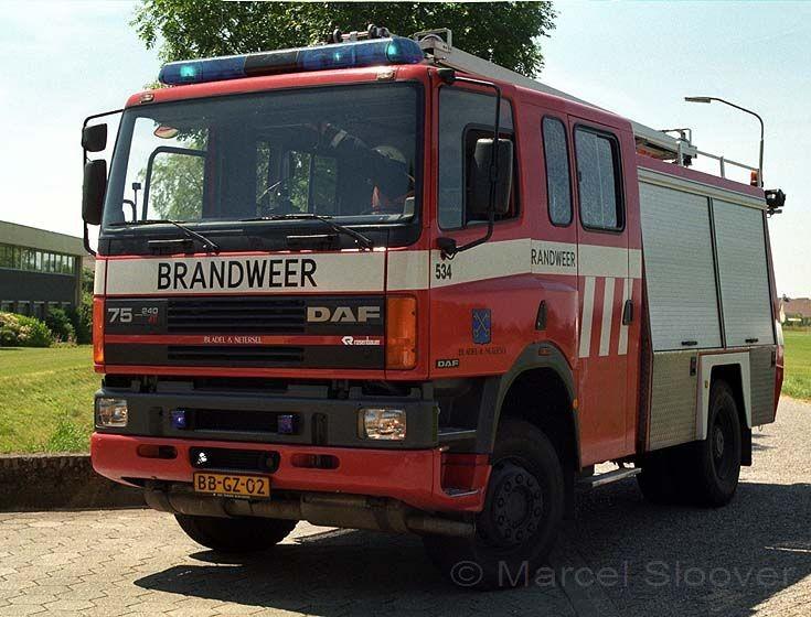 Brandweer Bladel DAF 75