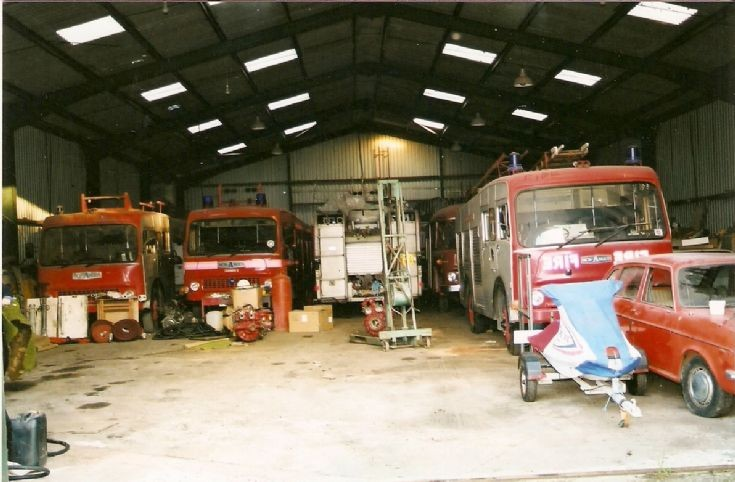 Bedford  Tk  Fire Engines   2011
