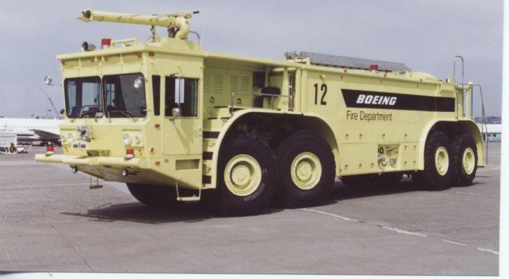 Boeing Engine 12 Oshkosh M4000