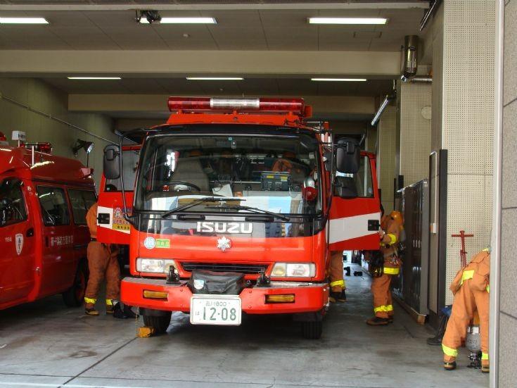 Tokyo Fire Department Isuzu