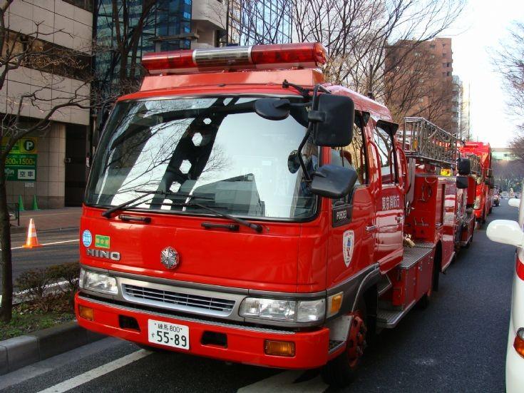 Tokyo Fire Department Hino