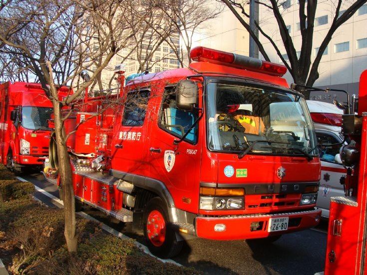 Tokyo Fire Department Fuso
