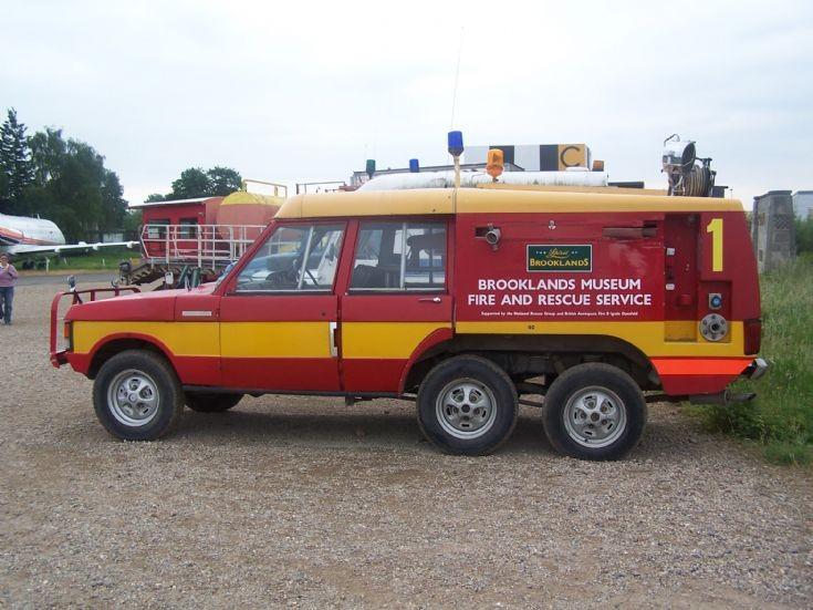 RANRange Rover Brooklands Museum FRS