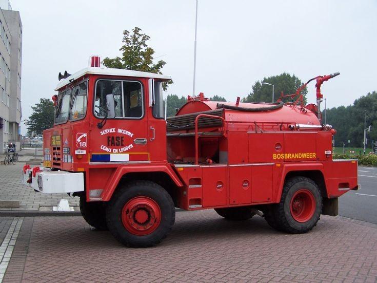 Berliet Brush Fire truck