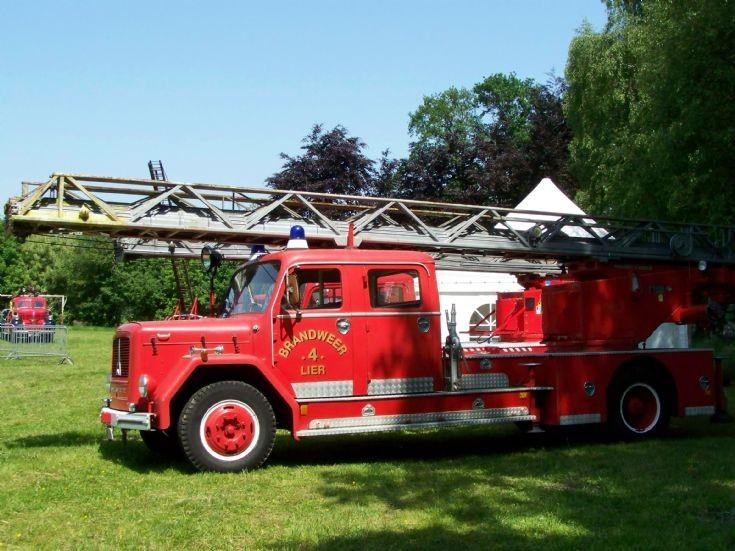 Magirus Deutz ladder Lier Fire brigade
