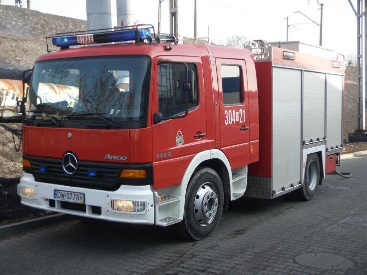 MB Atego Fire Brigade Poland