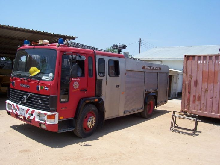 Fire Engines Photos - Choma Fire Brigade , Zambia Volvo