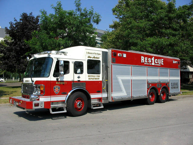 Buffalo NY  Fire Department Rescue-1