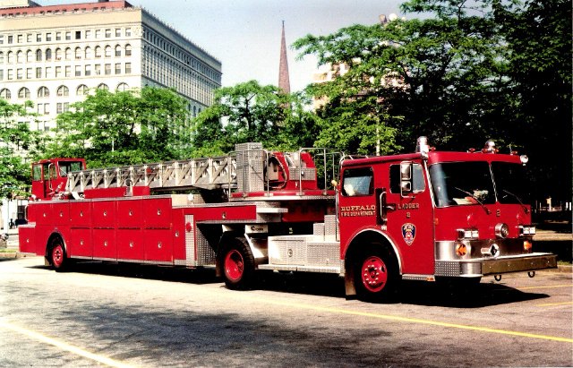 Buffalo, NY Fire Department Ladder Co. 2