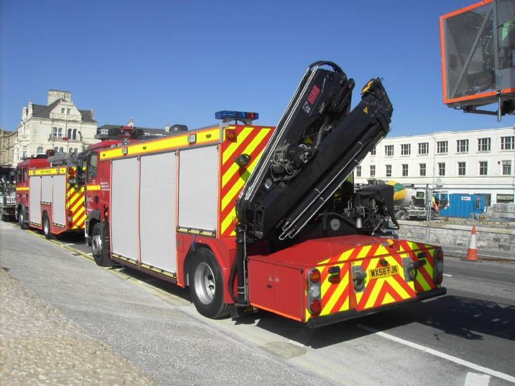 Avon FB MAN Rescue tender back