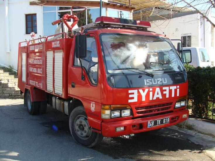 Isuzu Fire Truck Bodrum - Turkey