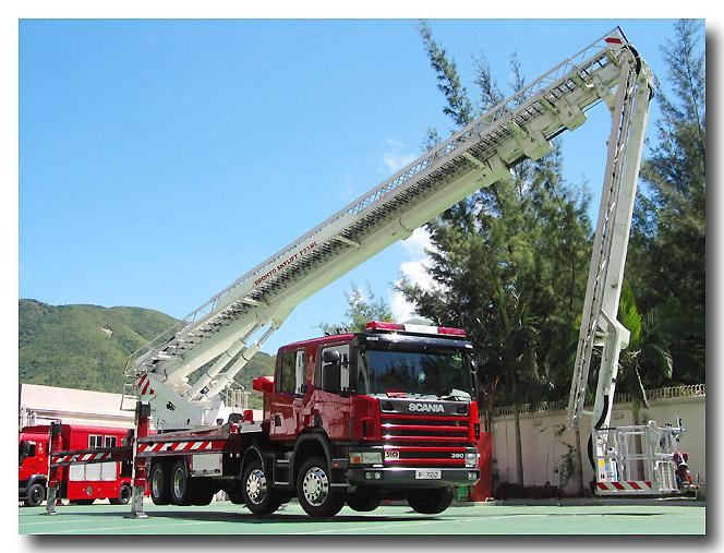 Scania/SK fire Bronto Skylift HDT ALP Hong Kong