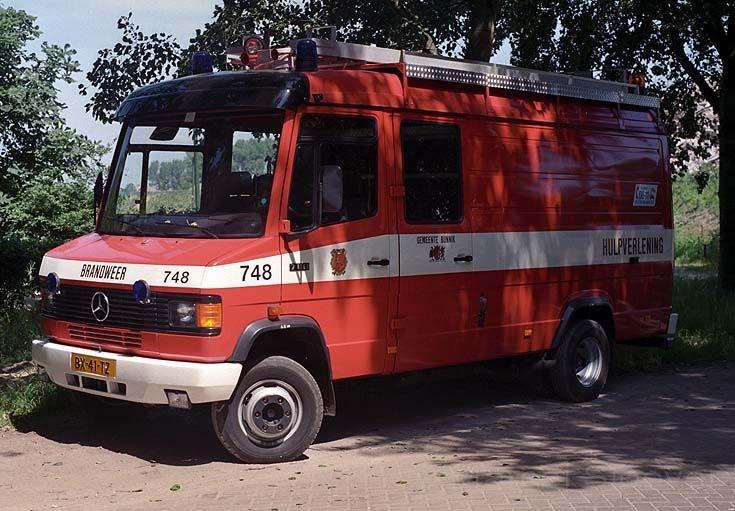 Brandweer Bunnik Mercedes Rescue truck