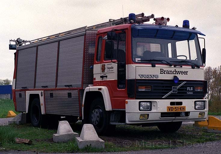 Capelle a/d  IJssel Rescue truck Volvo