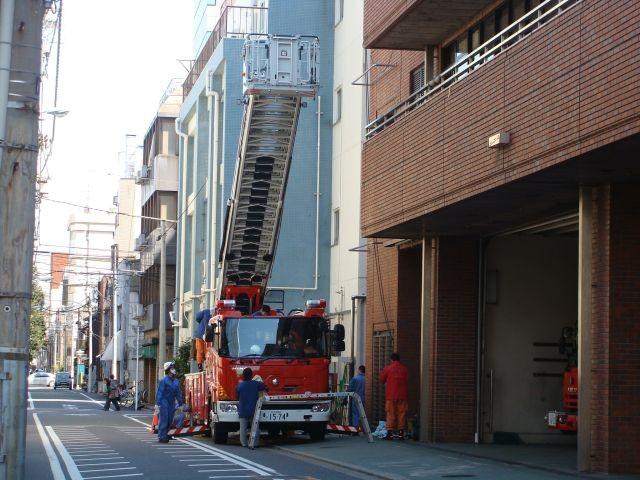 TL Hino-Magirus ladder - Ueno FS Tokyo FD