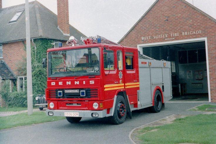 Bosham Fire Brigade.West Sussex.