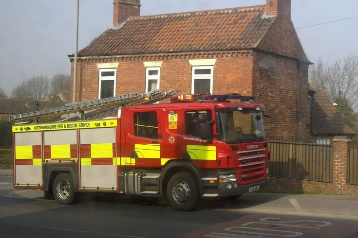 Notts Fire & Rescue SCANIA