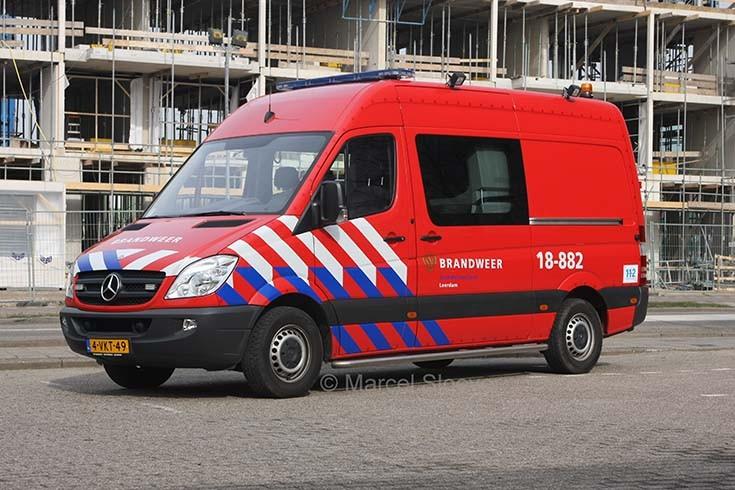 Brandweer Leerdam Mercedes 18-882