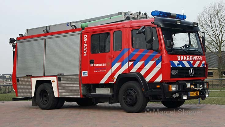 Brandweer Lingewaal Mercedes Ecoliner