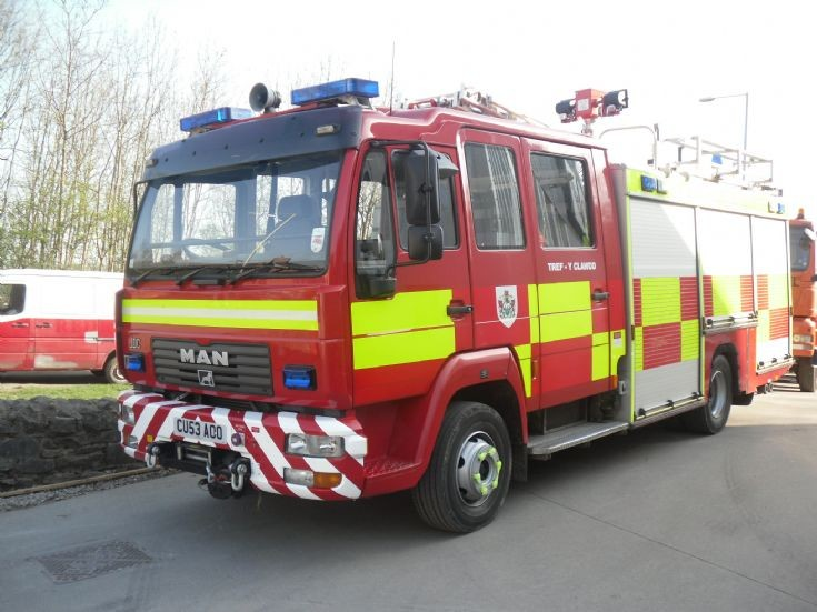 CU53AOO Mid&West Wales FRS