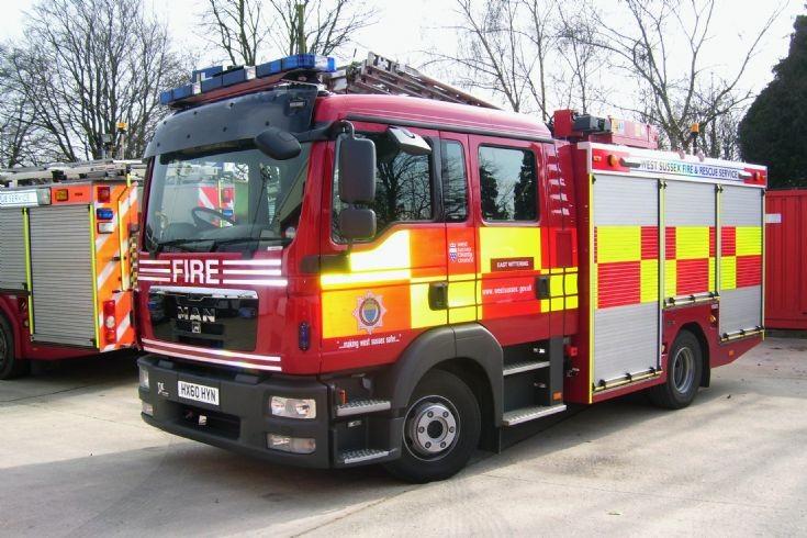 2010 MAN/JDC West Sussex Fire & Rescue.
