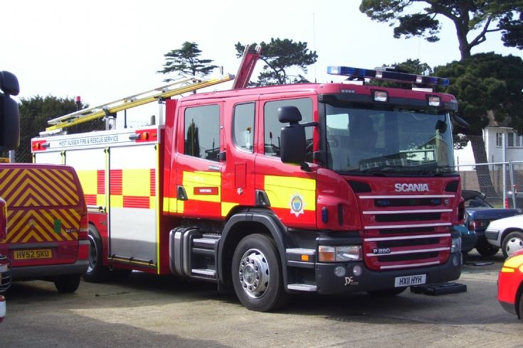 2011 Scania/JDC West Sussex Fire & Rescue.